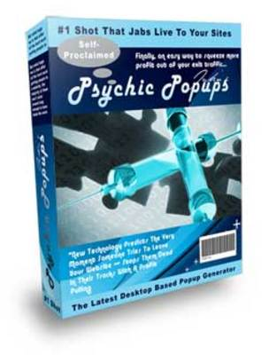 Product picture Psychic Popup Injector with Reseller Right